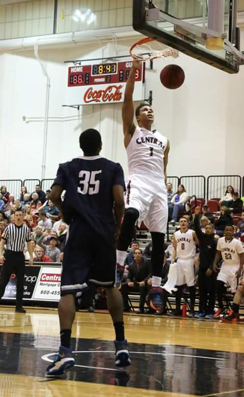 Goldfields Giants recruit JB Pillard in action for Central Washington University. Photo: Central Washington University
