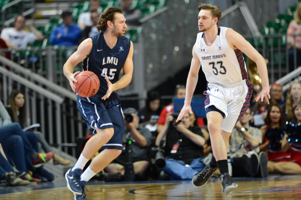 Goldfields Giants recruit David Humphries in action for Loyola Marymount.