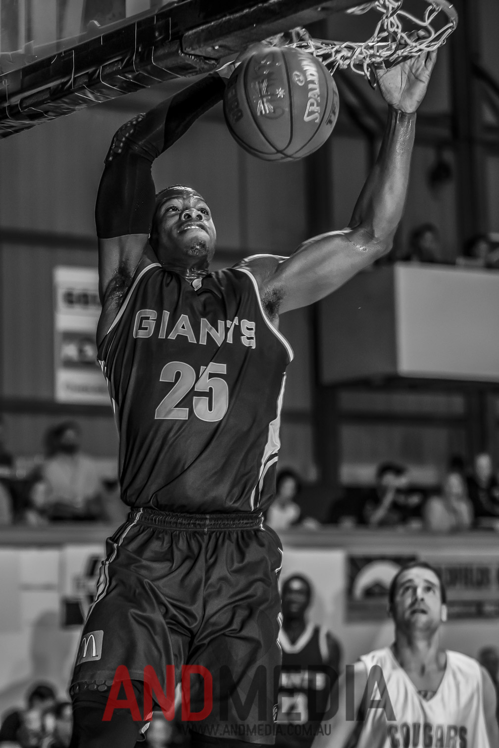 Goldfields Giants import Jay Bowie in action for the Giants back in 2015.