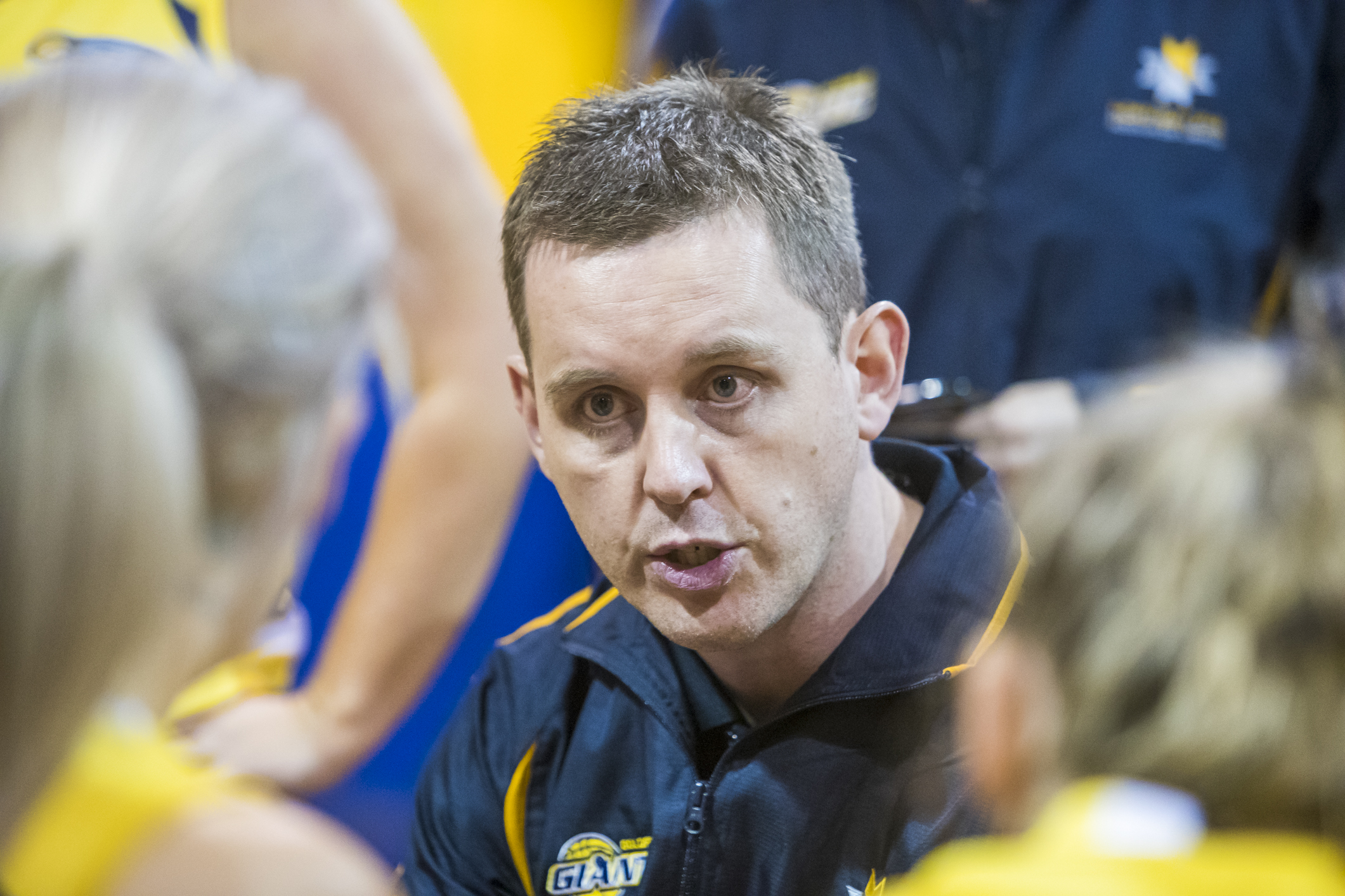 Goldfields Giants womens' head coach Rob Thomson.